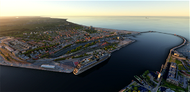 Warnemünde, Rostock, Rostock-Port, Hohe Düne & Helipads Image Flight Simulator 2020