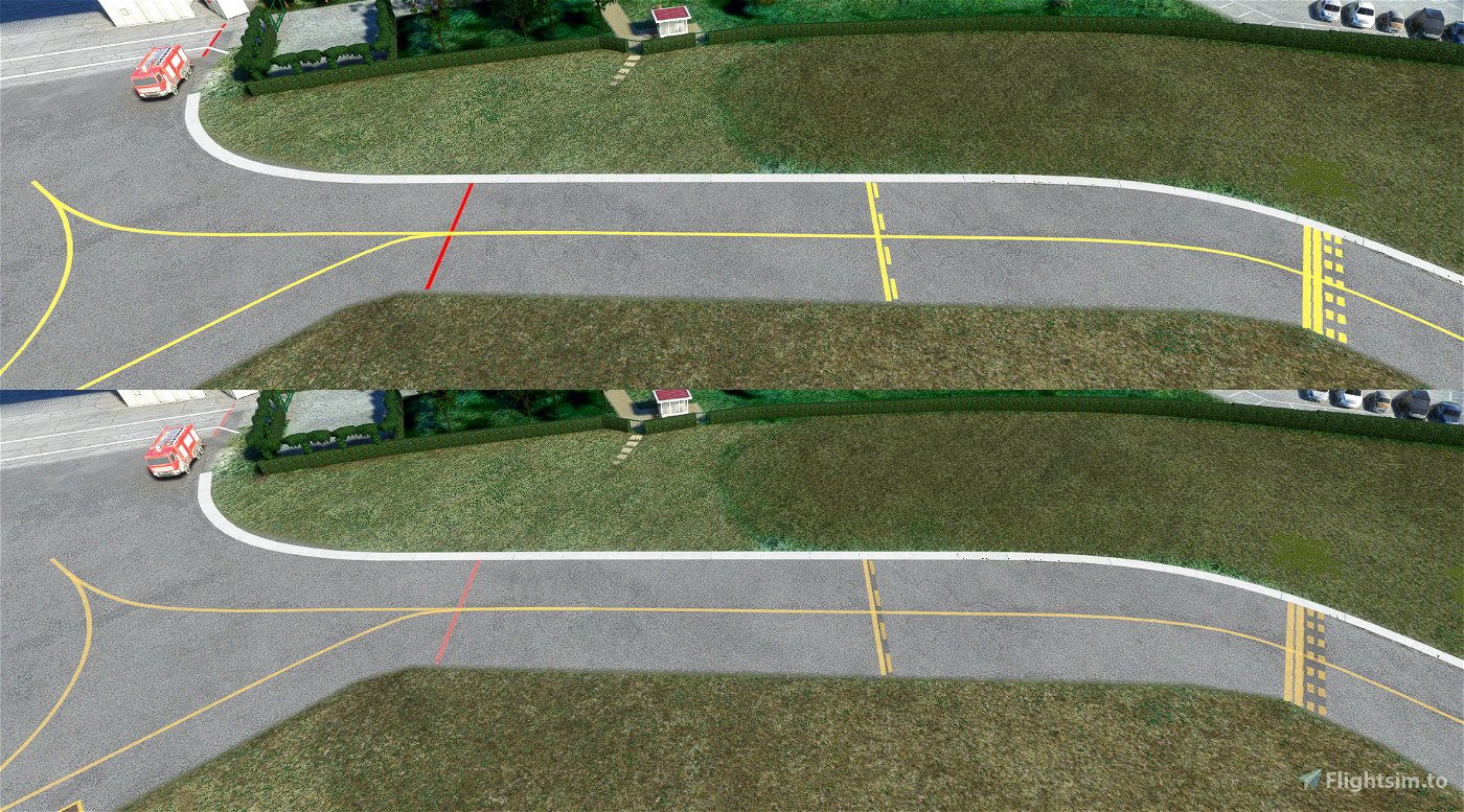 Yet another ground marks fix