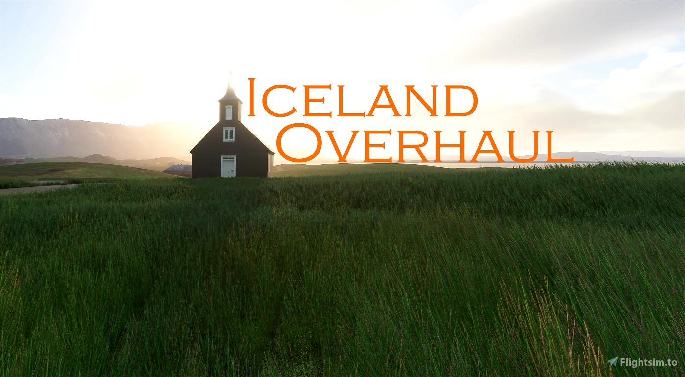 Iceland Overhaul Flight Simulator 2020