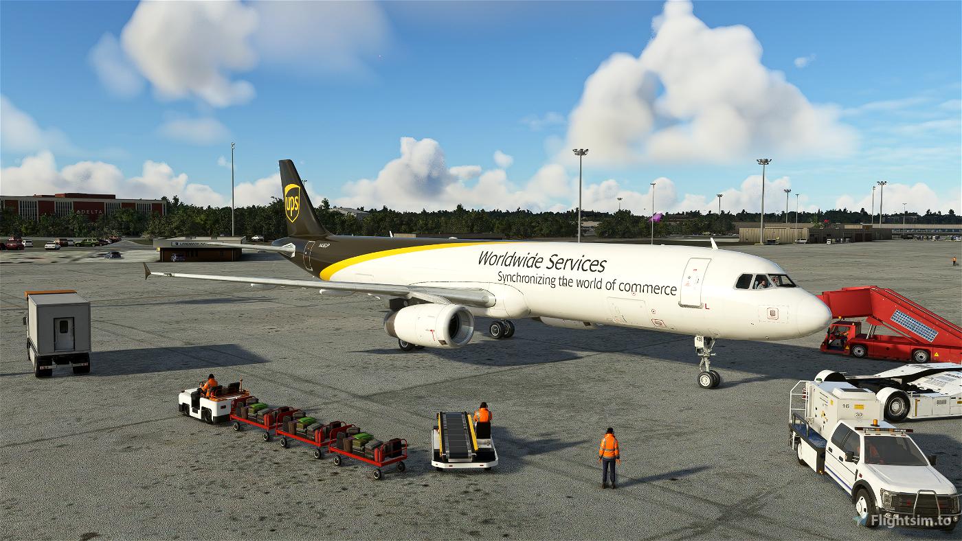 UPS A321 Flight Simulator 2020