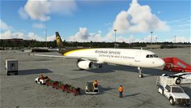 UPS A321 Image Flight Simulator 2020