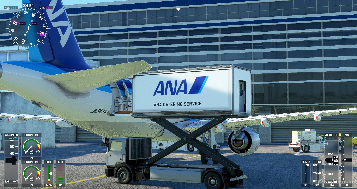 ANA Ground Catering Track [JAPAN-ANA repaint] Flight Simulator 2020
