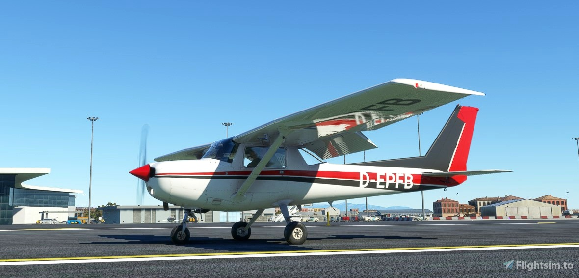 Cessna 152 flight model mod Flight Simulator 2020
