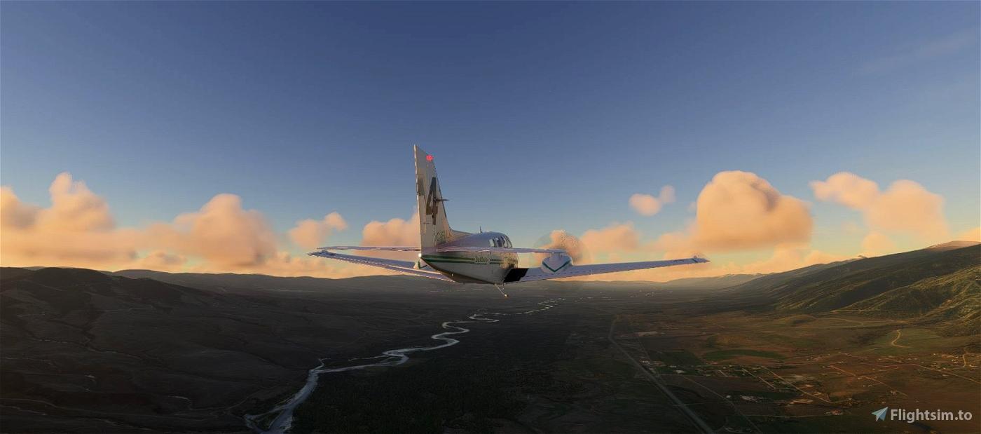 Buffalo Airways C-FULX Beechcraft Baron G58 Flight Simulator 2020