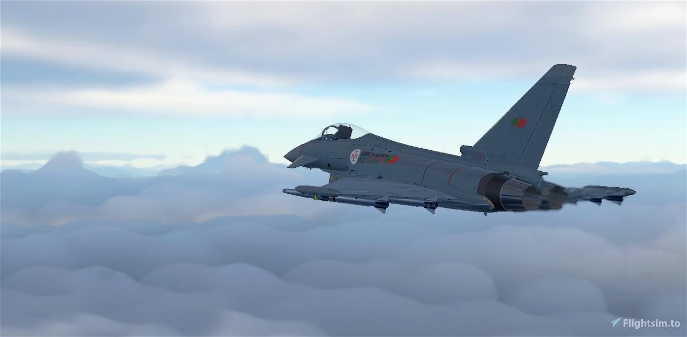 Eurofighter Typhoon - Livery - FAP forças aereas portuguesas