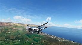 Waco YMF-5 VH-ONY Image Flight Simulator 2020