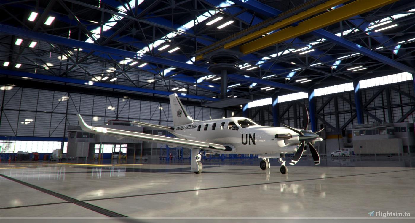 TBM 930 - United Nations Transport Flight Simulator 2020