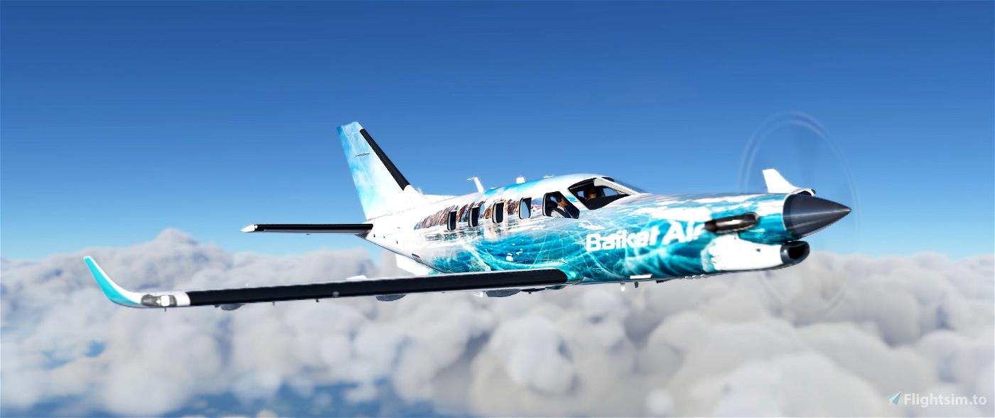 TBM 930 Baikal Air Flight Simulator 2020