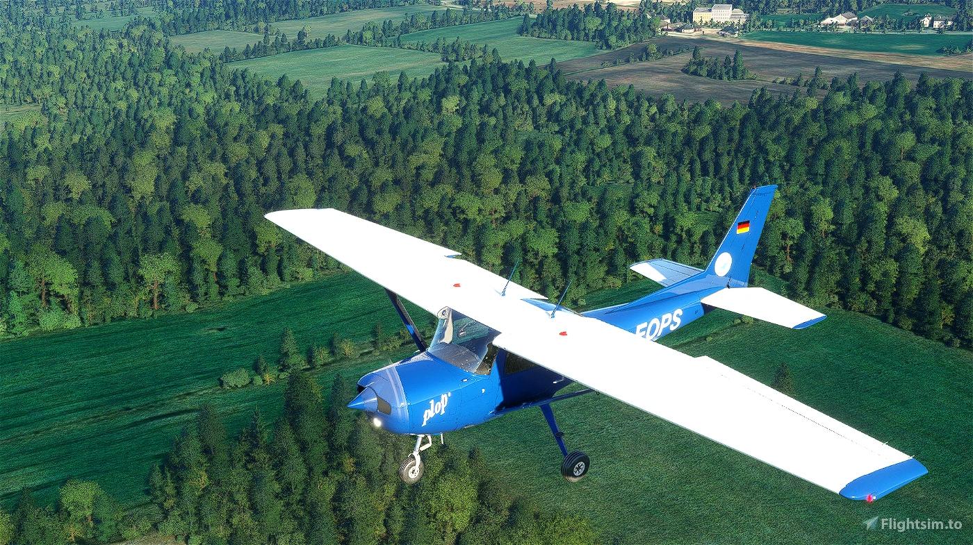 Cessna 152  livery - Plop - D-EOPS (Version 2)
