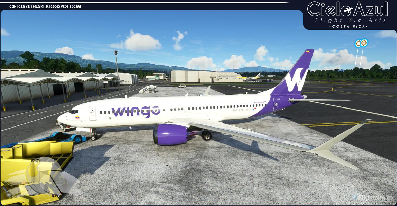 Wingo | HP-1711CMP | Bredok3D 737M8 (7.5K)