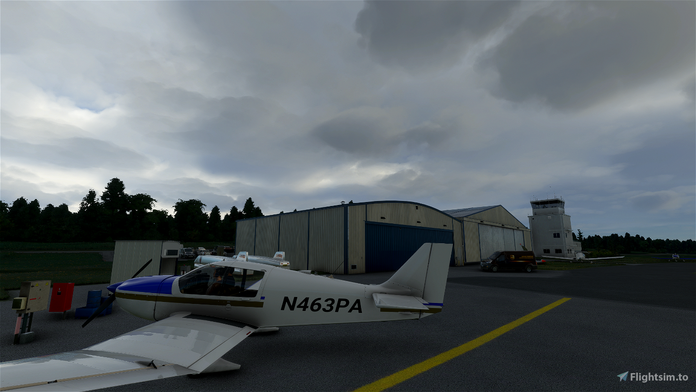 LOGF Fürstenfeld-Airfield Flight Simulator 2020