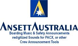 Ansett Australia Safety  and Boarding Music Image Flight Simulator 2020