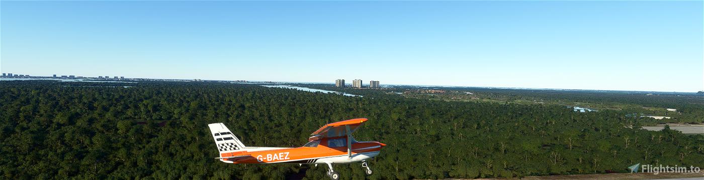 G-BAEZ- 152 Flight Simulator 2020
