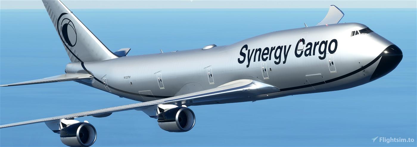 Synergy Cargo 747-8F [4K, 4 Variants, Working]