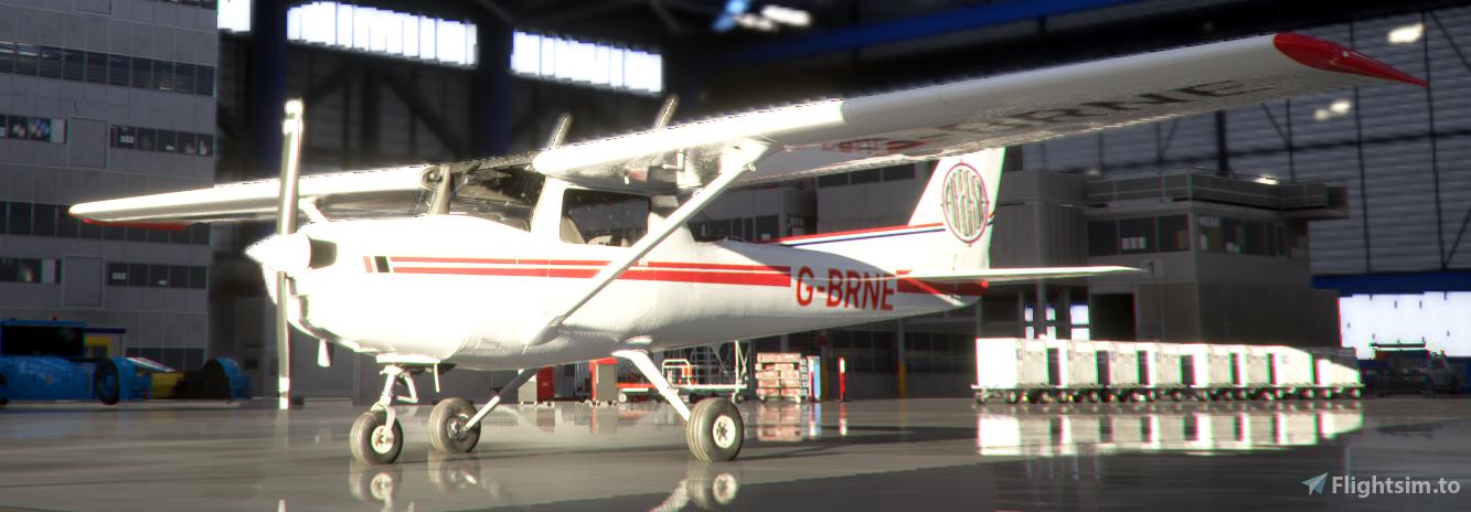 Cessna 152   G-BRNE Flight Simulator 2020