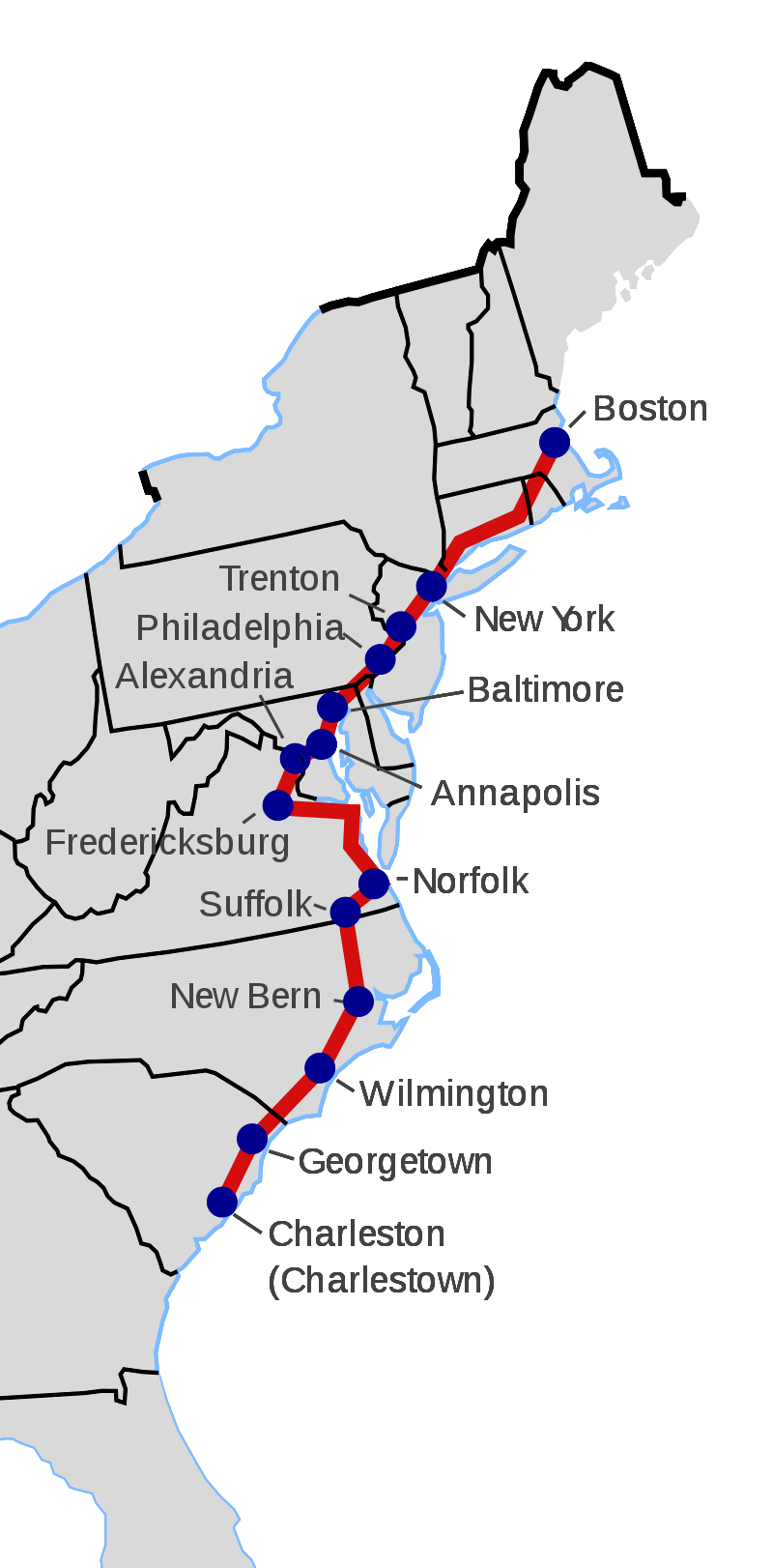 King's Highway flight plan
