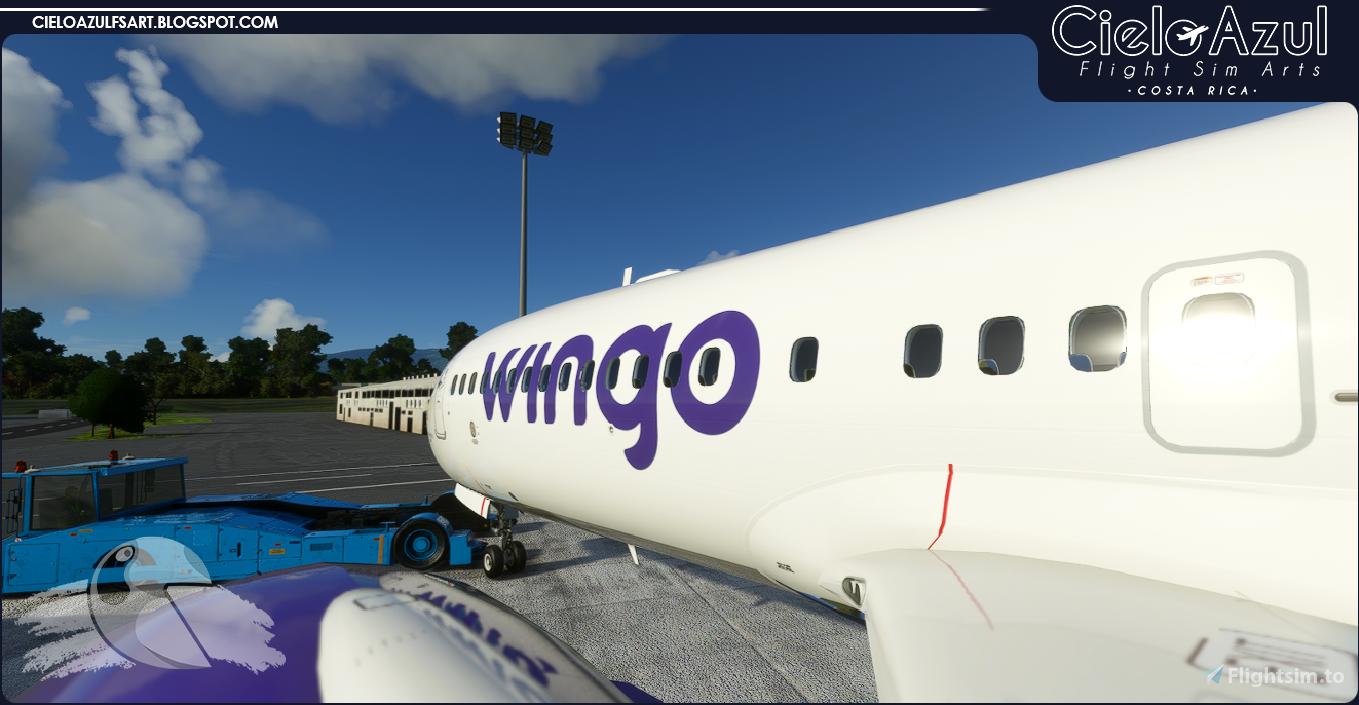 Wingo | HP-1711CMP | Bredok3D 737M8 (7.5K) Flight Simulator 2020