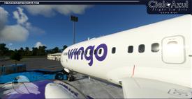 Wingo | HP-1711CMP | Bredok3D 737M8 (7.5K) Image Flight Simulator 2020