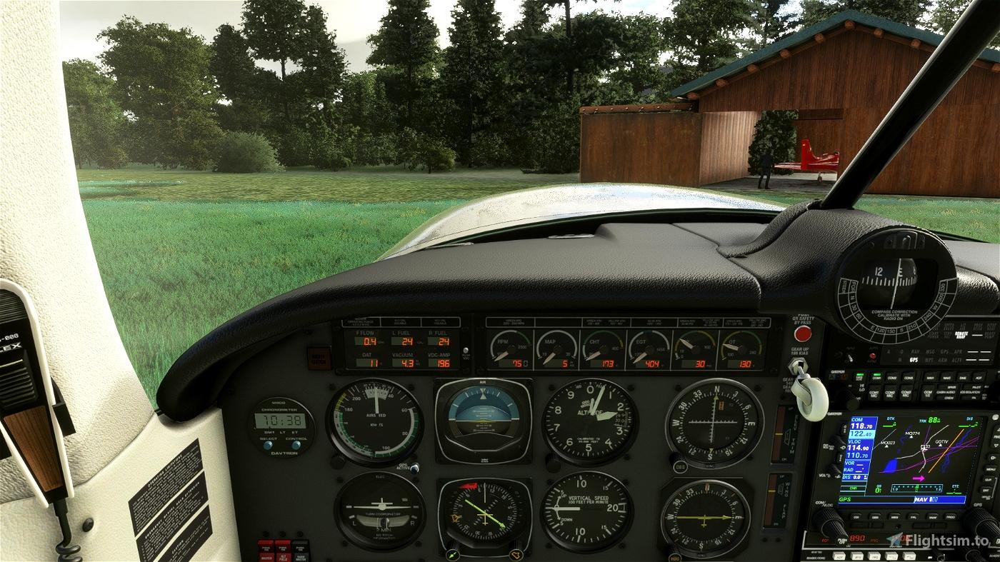 Mooney M20R Ovation - Better Cameras Flight Simulator 2020