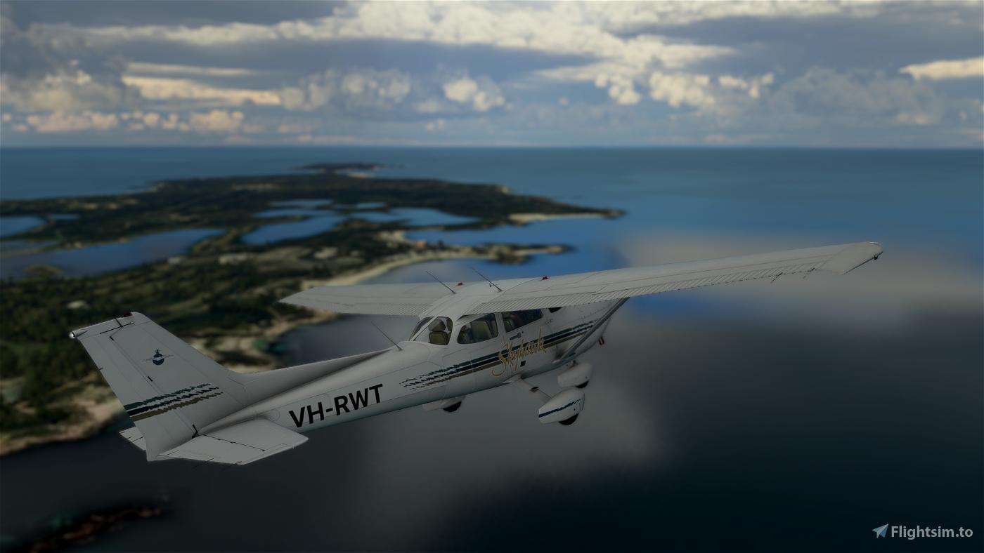 Cessna 172R (Classic SP) Royal Aero Club of Western Australia VH-RWT Flight Simulator 2020