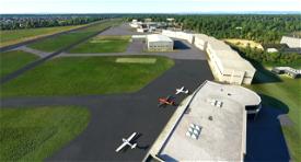 EDFE Egelsbach Airfield Image Flight Simulator 2020