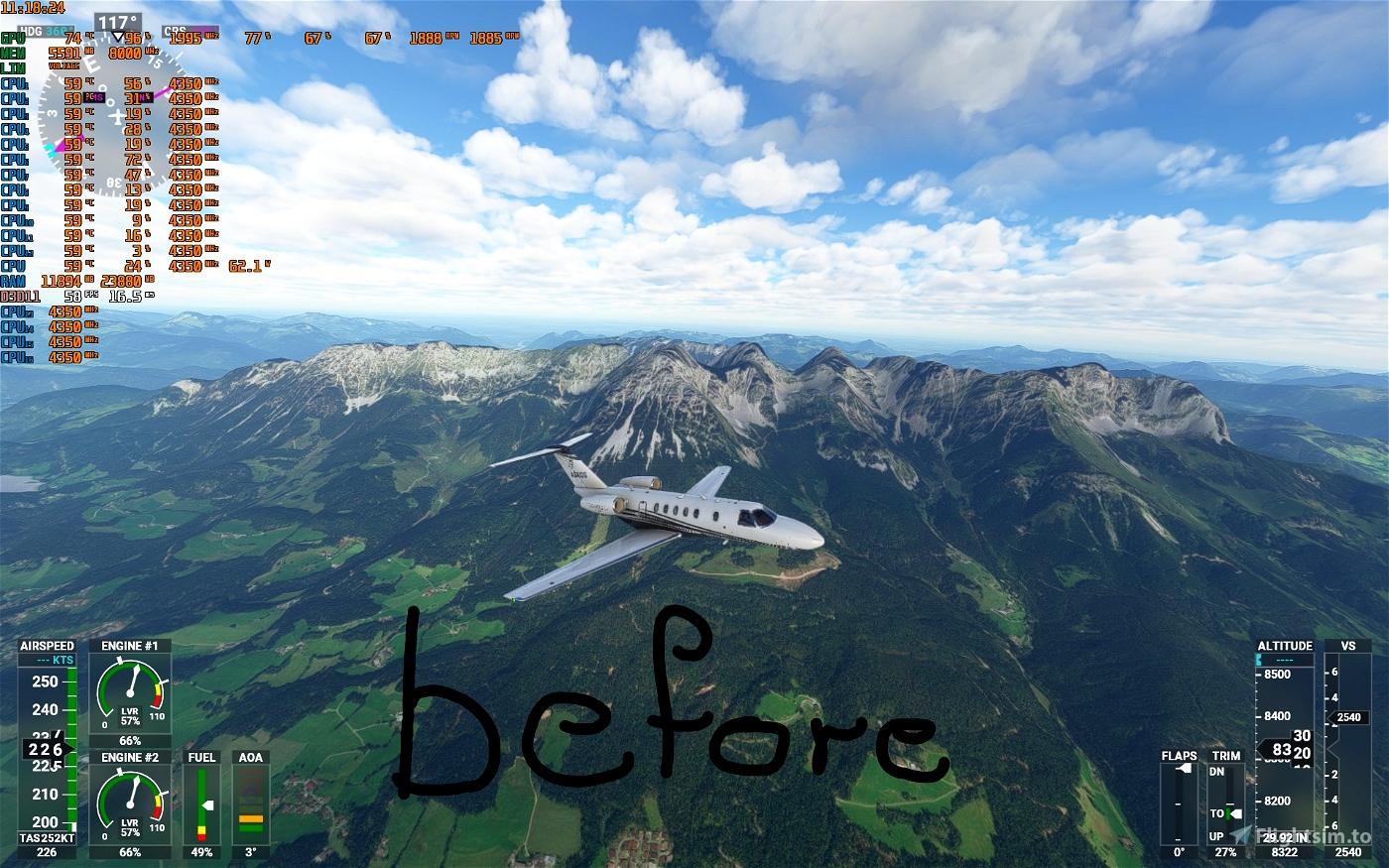 Kasiergebirge (Wilder Kaiser Tirol) Flight Simulator 2020