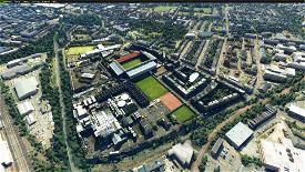 By request Tynecastle Park football stadium, Edinburgh, Scotland Image Flight Simulator 2020