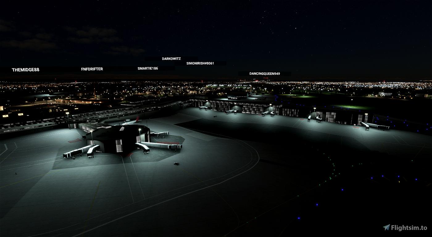 EIDW Dublin International Llighting-fix Flight Simulator 2020
