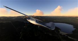 L-19 Bird Dog Bare Bird Livery Image Flight Simulator 2020