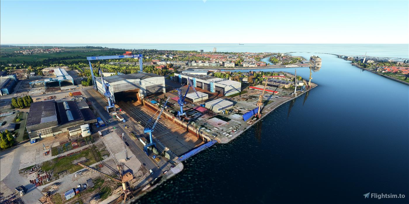 Warnemünde, Rostock, Rostock-Port, Hohe Düne & Helipads