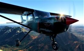 Cessna 152 Bushrats Livery Image Flight Simulator 2020