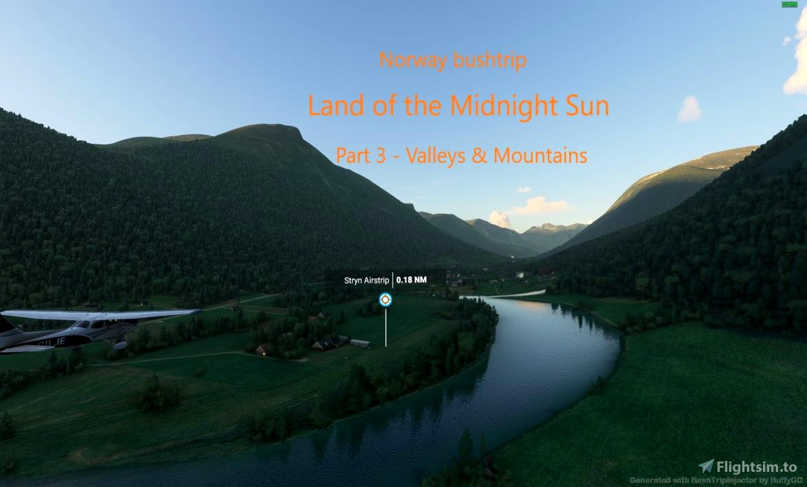 Land of the Midnight Sun - Norway - part 3 Flight Simulator 2020