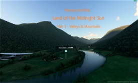 Land of the Midnight Sun - Norway - part 3 Image Flight Simulator 2020