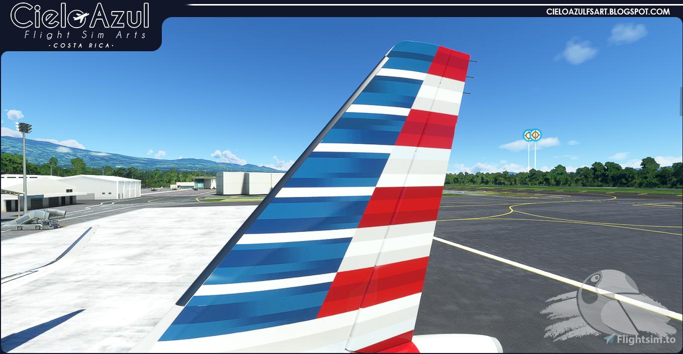 American Airlines   N12028   Asobo Airbus A320neo (8K) Flight Simulator 2020