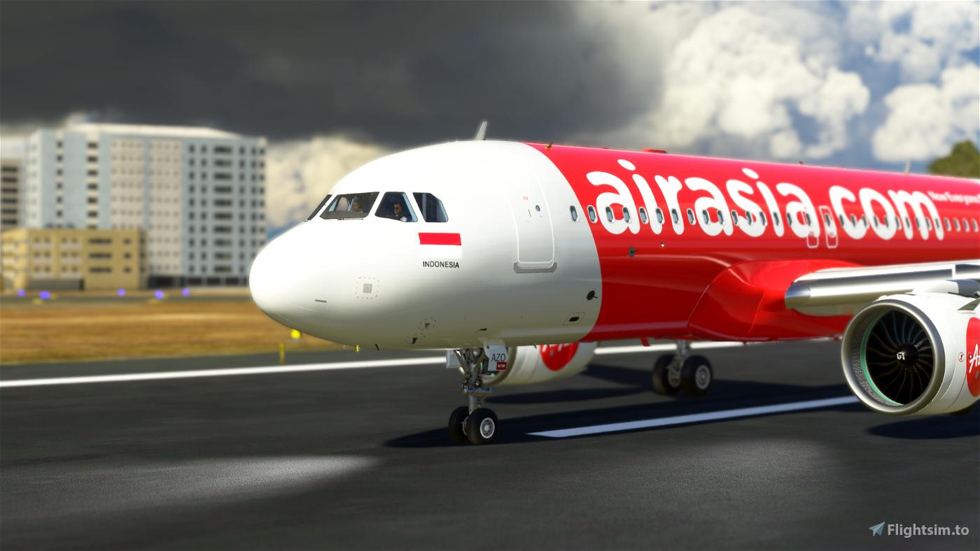 AirAsia Indonesia 8K (PK-AZO)