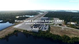Marco Island Executive Airport - KMKY, Florida Image Flight Simulator 2020