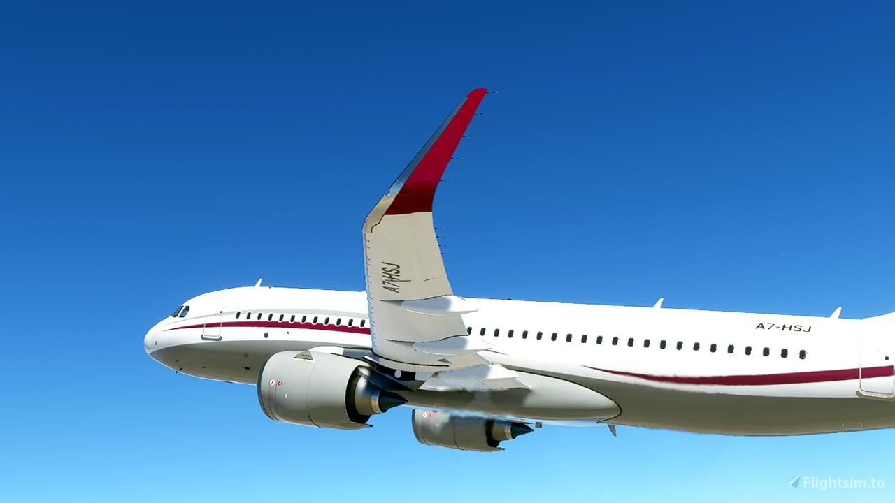 Qatar Amiri [4K] Flight Simulator 2020
