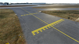 Very Simple Enhanced Airport Ground Texture Image Flight Simulator 2020