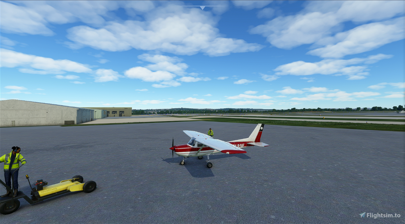 Cessna 150 Red