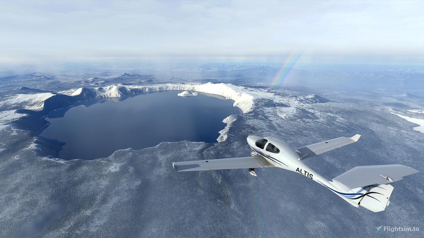 Crater Lake National Park Flight Plan Flight Simulator 2020