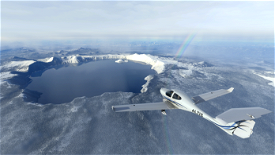 Crater Lake National Park Flight Plan Image Flight Simulator 2020