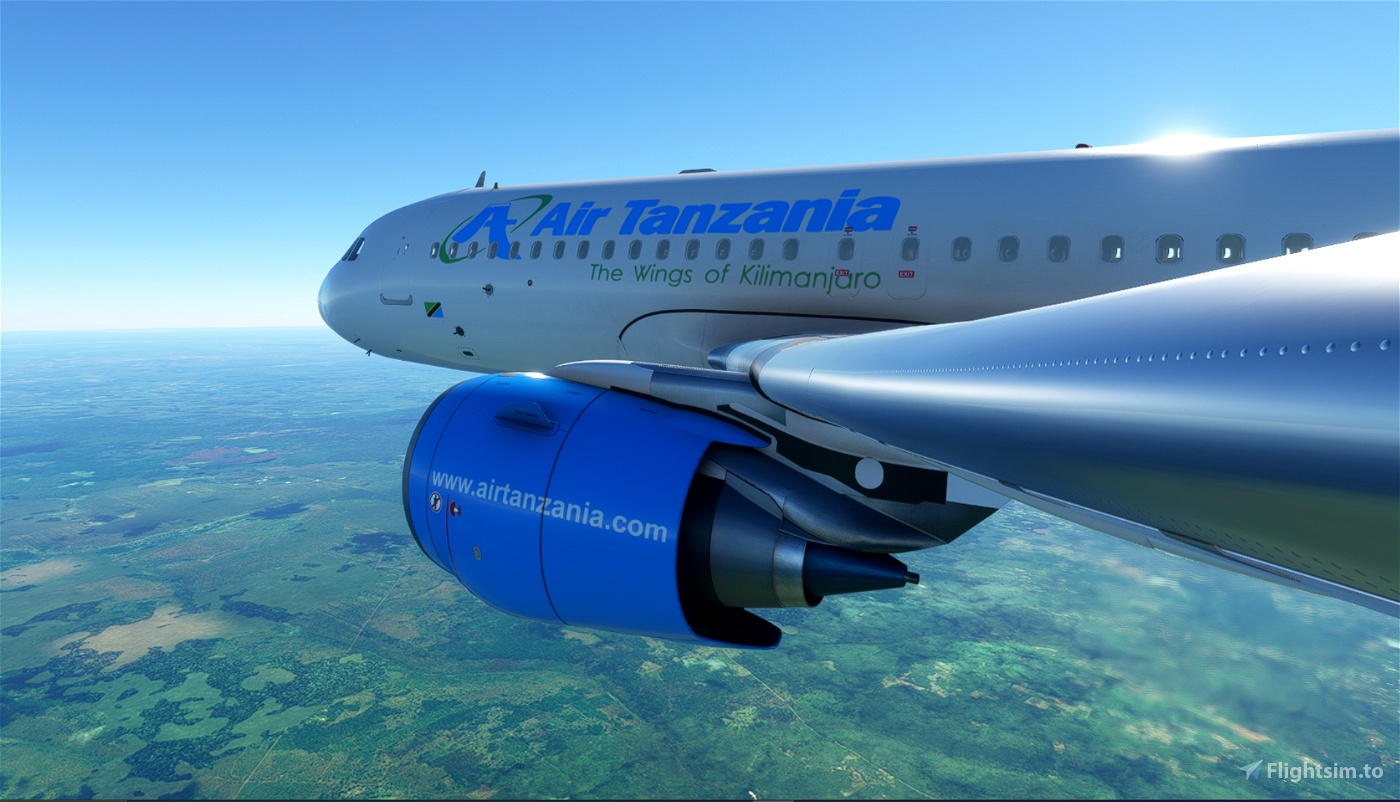 Tanzania Airlines Flight Simulator 2020