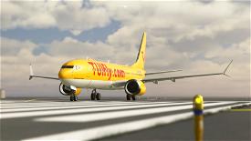 Bredok's 737 Max | TUI Airways (Yellow) Image Flight Simulator 2020