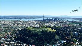 Mount Eden - Auckland, New Zealand Image Flight Simulator 2020