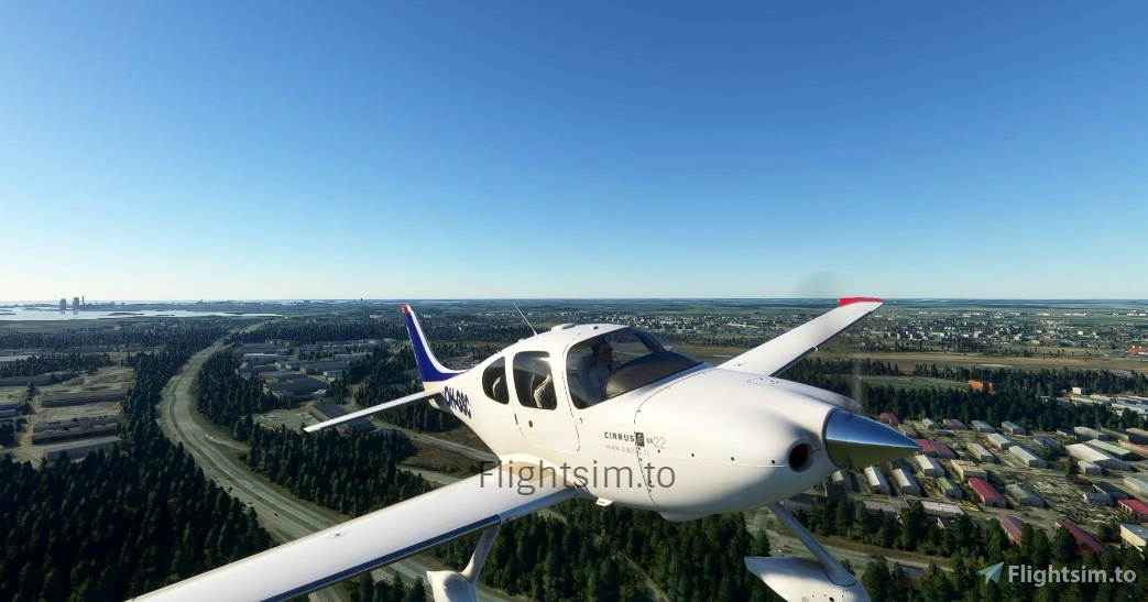 Cirrus SR22 OH-GSC Patria Pilot Training