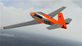 Metallic Orange Livery for Carenado Mooney Image Flight Simulator 2020