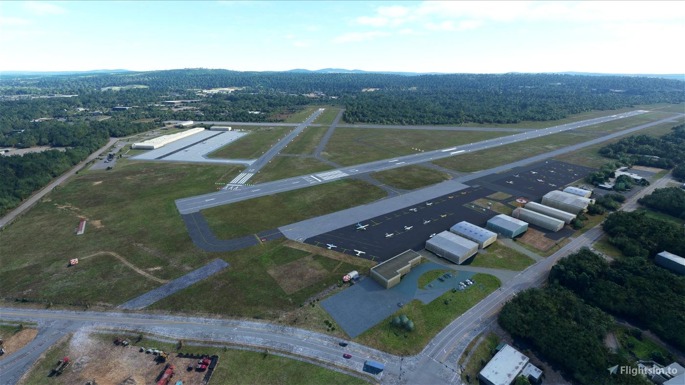 Concord Municipal Airport (KCON), Concord, NH Flight Simulator 2020