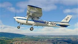 C152 - Aeroclube de Jundiaí - PR-ADO Livery 4K Image Flight Simulator 2020