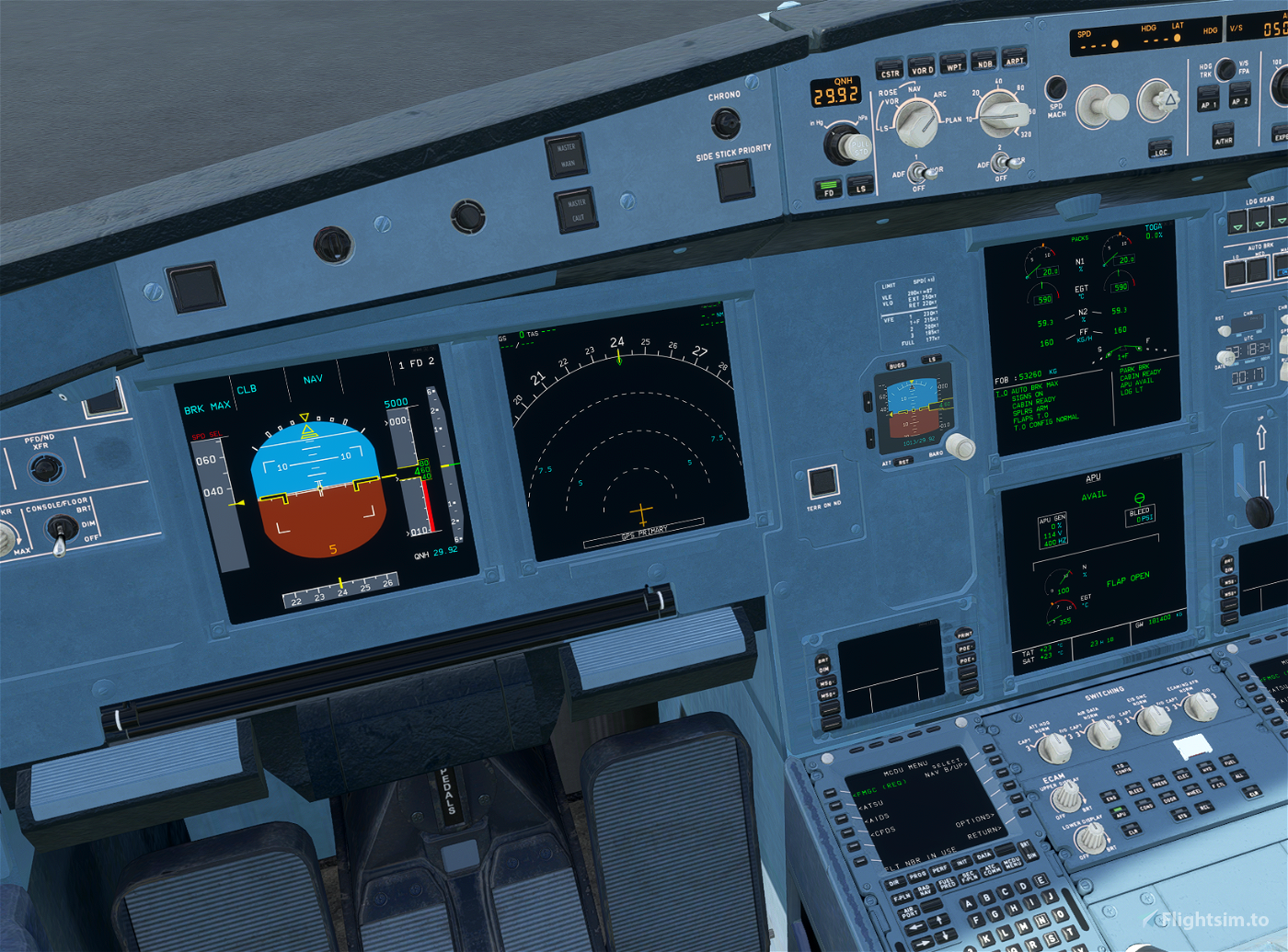 Project Mega Pack A330 FBW A32NX Compatibility Mod Flight Simulator 2020