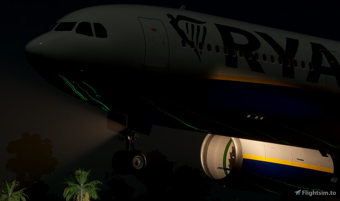 Ryanair Livery | PMP a330-300 [8K] Flight Simulator 2020